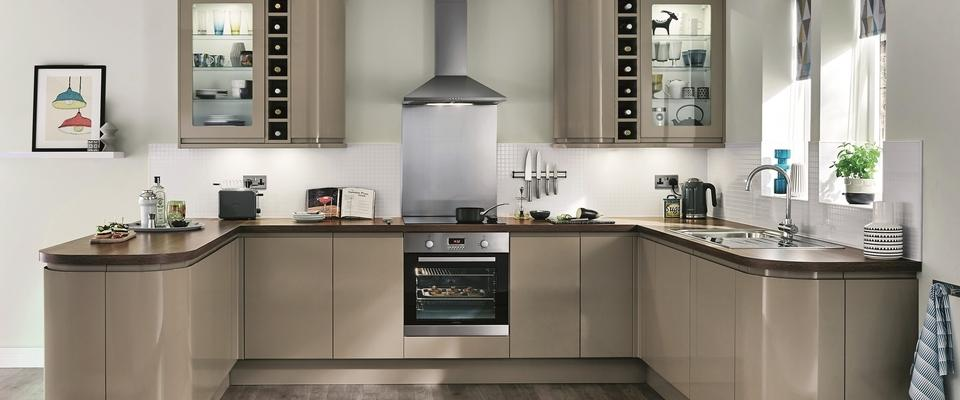 Windrush kitchens bathrooms kitchen and bathroom for Cream kitchen carcasses